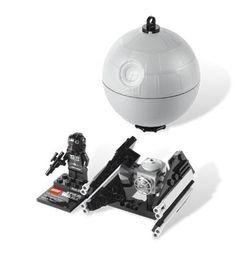 LEGO TIE Interceptor & Death Star