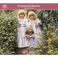 """Sandra Kuck Treasured Hearts Wall Calendar: Illustrating innocence in tender moments is Sandra's signature style, referred to as """"romantic realism.""""  $12.79  http://calendars.com/Babies-and-Children-in-Art/Sandra-Kuck-Treasured-Hearts-2013-Wall-Calendar/prod201300000595/?categoryId=cat00006=cat00006#"""