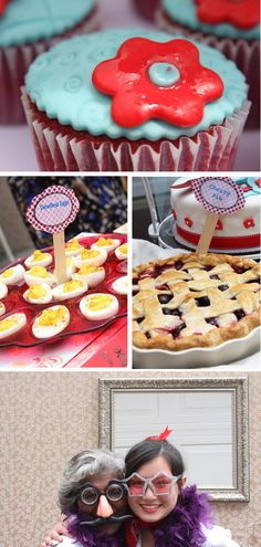1950s Housewife Bridal Shower 3