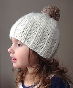 Naturally Finely Child's Hat Pattern