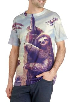 ModSloth Men's Tee.  I don't know why, but I think this is hilarious!