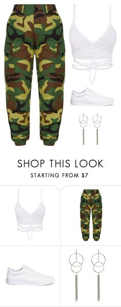 """Untitled #5645"" by twerkinonmaz ❤ liked on Polyvore featuring Vans"