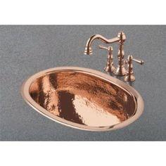 Copper Bathroom Faucet U0026 Sink