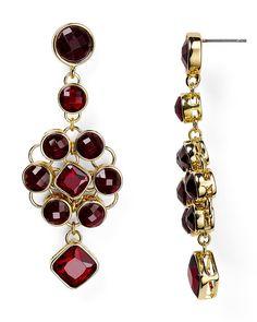 Carolee Berry Chic Chandelier Earrings   Bloomingdale's