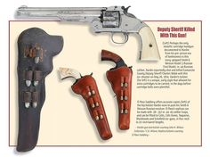 John Wesley Hardin's Smith & Wesson American Model Single Action Revolver