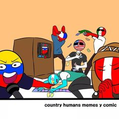 Read Random from the story Countryhumans [Cómics] by sunisinmortal with reads. Hetalia, Comics Mexico, Cristiano Ronaldo Cr7, Mundo Comic, Fandom, Country Art, Cool Drawings, Chibi, Funny Memes