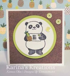 Karina's Kreations: Stampin'Up Party Panda Sneak Peak!