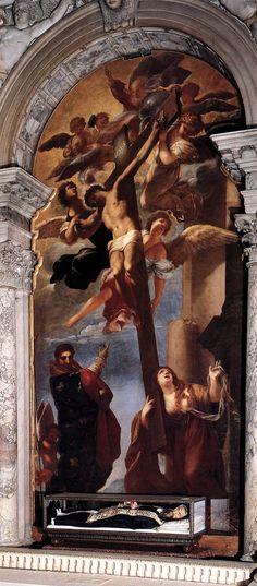 Magdalena al peu de la Creu   Liberi, Pietro