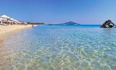 Arbatax, strand