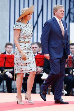 Queen Maxima Photos: 200 Years Of The Kingdom Of The Netherlands In Maastricht
