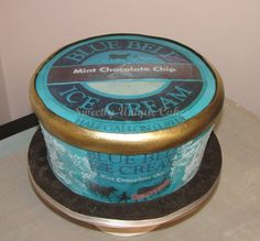 Blue Bell Ice Cream CakeOne Of My FAVS