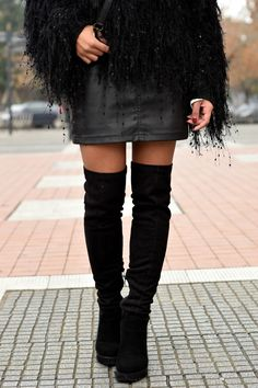 k-meets-style how to style black thigh boots