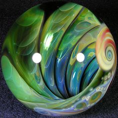 Mike Gong - 'Into The Matrix' Marble. Marbles Images, Marble Art, Glass Marbles, Glass Paperweights, Glass Ball, Art Object, Glass Design, Lampwork Beads, Handmade Art