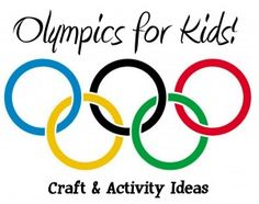 Olympics for Kids – Craft and Activity Ideas