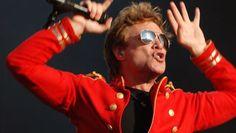 One of my all time favorites. . .Jon Bon Jovi! I admit it!