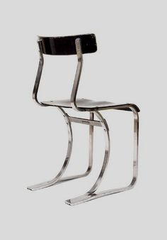 A chair, Model No. 301-18 by Marcel Breuer