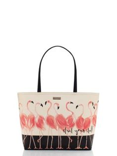 strut your stuff flamingo francis - kate spade new york