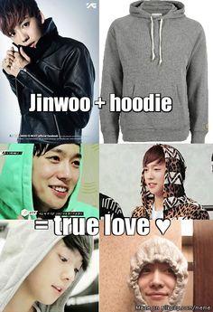 jin woo oppa :*