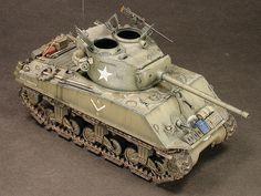 1/48 Scale M4A3-76 Sherman by Pat Johnston