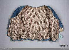 18th Century Clothing, 18th Century Fashion, Cotton Linen, Printed Cotton, 18th Century Costume, Clothing And Textile, Fashion History, Women's Fashion, Folk Costume