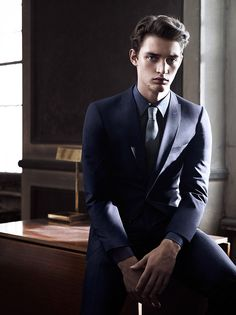 Danish Model Otto Lotz by Umit Savaci for the Sarar Interview's Fall Winter 2014-2015 Campaign