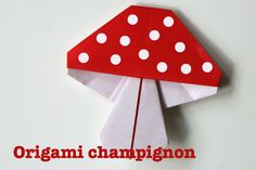 origami-champignon