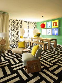 Those Flor carpet tiles look killer (from ep of Home by Novogratz)