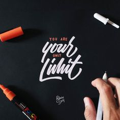 Find me on Instagram @_rdwnsyh . http://ift.tt/2mSb2dJ if you have a wild imagination nothing will stop you. . . Hi i'm available for commission work. . . Lettering on black paper 80gsm with @sakuraofamerica gelly roll white and @poscagallery orange. . . #lettering #calligraphy #typography #goodtype #handlettering #typegang #handwritten #handdrawn #customlettering #handmadefont #typism #typeinspired #ligaturecollective #kaligrafina #belmenid #hurufraktur #TYxCA #strengthinletters…