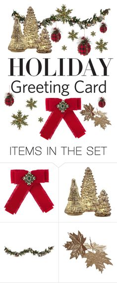 """""""Holiday Greeting Card"""" by ddalginanabeauty ❤ liked on Polyvore featuring art, holidaygreetingcard and PVStyleInsiders"""