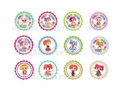 Could make my own i think - much cheaper that way -   lalaloopsy printable party package INCLUDING invite. $37.00, via Etsy.