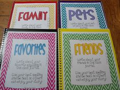 Primarily Speaking: Look What I Made, Shared Journals for Fast Finishers