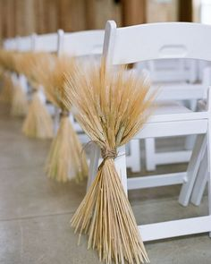 @curiouscountry posted to Instagram: Another gorgeous country wedding decorating idea-- decorate down the aisles with natural wheat bouquets!  Accent with satin ribbon in your wedding colors or a rustic favorite, burlap!  We offer several sizes and colors of natural wheat-- browse now and order soon for your summer and fall weddings and special events!  #countrywedding #weddinginspo #weddingreception #receptionideas #bohowedding #weddingideas #weddingdecor #weddingbouquet #bridetobe #bridalbouqu