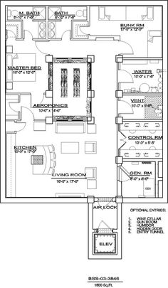 Family Bunker Plans 341710690474623148 - Bomb Shelter Plans Archives – Disaster Bunkers Source by cristimoreland Underground Bunker Plans, Underground Shelter, Underground Homes, Underground Living, The Plan, How To Plan, Bunker Home, Home Addition Plans, Bomb Shelter