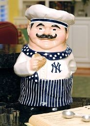 *NEW YORK YANKIE ~ cookie jar, by: MLB merchandise