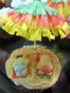 beach cupcakes decorating - Google Search