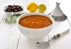 Harira marocana / Harira, Moroccan soup (CC Eng Sub) Moroccan Soup, Romanian Food, Romanian Recipes, Soup Recipes, Chili, Ethnic Recipes, Soups, Yummy Yummy, Drink