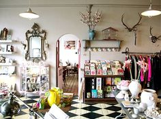 store interior | Vintage clothing and yesterday's prices, contemporary designer ...