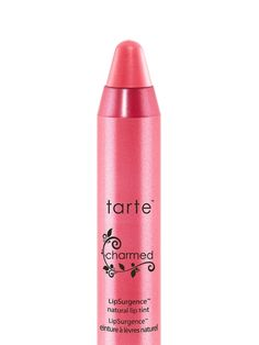 tarte's iconic lip tint that's become a staple in celebrity and beauty editor makeup bags alike.