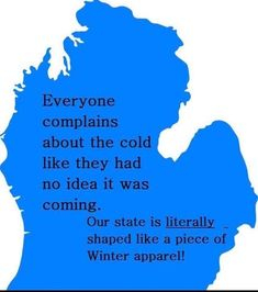 I guess we shouldn't be surprised! Michigan Travel, State Of Michigan, Detroit Michigan, Northern Michigan, Muskegon Michigan, Flint Michigan, Michigan Quotes, Winter Meme, The Mitten State