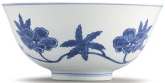 A RARE BLUE AND WHITE MING-STYLE 'PALACE' BOWL QING DYNASTY, KANGXI PERIOD