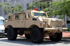 Oshkosh Armored Vehicle by Mr. T in DC, via Flickr