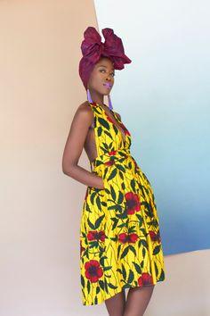 Nola Spaghetti dos nu robe de Stap par NigerianHippie sur Etsy