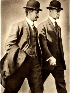 The Wright Brothers...need I say pioneers in Aviation...