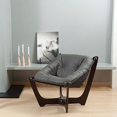 IMG NORWAY LOWBACK LUNA CHAIR: Design Quest Contemporary Furniture and Accessories