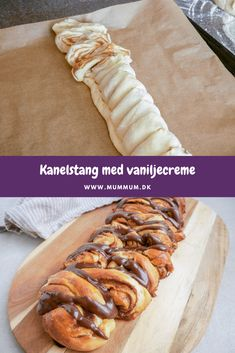 Danish Food, Cake & Co, Sweet Bread, Cakes And More, Bread Baking, Hot Dog Buns, Foodies, Cake Recipes, Bakery
