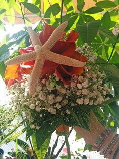 wedding bouquets Starfish (Sea Star)  www.meskflors.com
