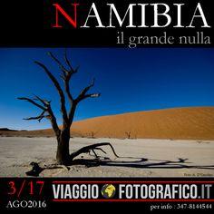 """Un Viaggio Fotografico per scoprire le dune più belle del mondo, per conoscere gli Himba """"i pellerossa d'Africa"""" e per stupirsi percorrendo la mitica Skeleton Coast. Questo è un Viaggio. Di quelli …"""
