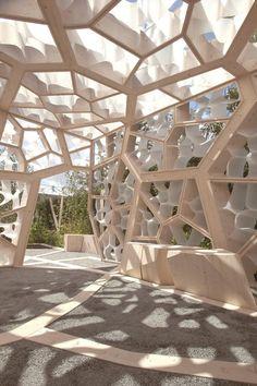Kew Garden Pavilion by Nex Architects/ London, UK/ Chelsea Flower Show 2012