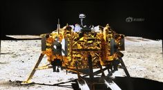 """China's lunar rover Yutu says 'Goodnight, humanity' in creepy farewell letter before freezing to death By Sebastian Anthony on January 27, 2014 Chang'e 3 lander, as seen by Yutu rover, showing the Chinese flag-a """"mechanical control abnormality"""" caused by """"the complicated lunar surface environment""""  is preventing Yutu from hibernating."""