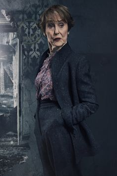 "cupidford: ""s4 Promo Photo, Mrs. Hudson/Una Stubbs """